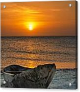 Sunset In Zanzibar - Kendwa Beach Acrylic Print