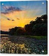 Sunset On Lake Masterman Acrylic Print