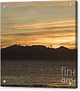 Sunset Over Arran Acrylic Print