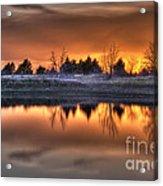 Sunset Over Bryzn Acrylic Print