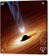 Supermassive Black Hole, Artwork Acrylic Print