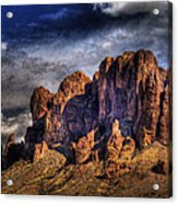 Supes-2 Acrylic Print by George Lenz