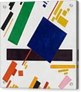 Suprematist Composition Acrylic Print