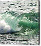 Surf Zone At The Barents Sea Coast Acrylic Print