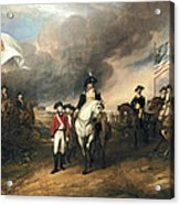 Surrender Of Lord Cornwallis Acrylic Print by John Trumbull