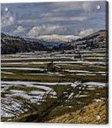 Swaledale Yorks Dales Acrylic Print