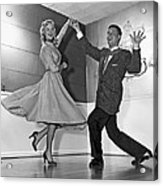Swing Dancing Couple Acrylic Print