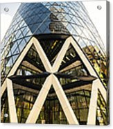 Swiss Re Tower In London Acrylic Print