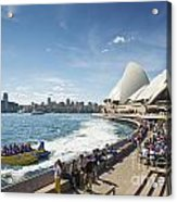 Sydney Harbour In Australia By Day Acrylic Print