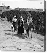 Syria Druze Children, 1938 Acrylic Print