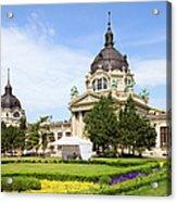 Szechenyi Baths In Budapest Acrylic Print