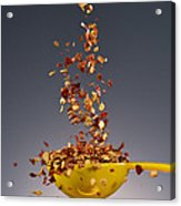 1 Tablespoon Red Pepper Flakes Acrylic Print