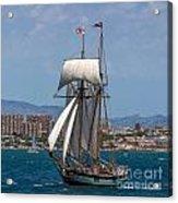 Tall Ship Alicante Acrylic Print
