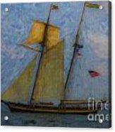 Tall Ship Sailing Acrylic Print