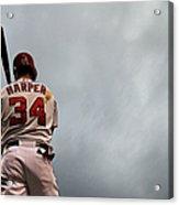 Tampa Bay Rays V Washington Nationals 1 Acrylic Print