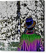 Technicolor Chassid Acrylic Print