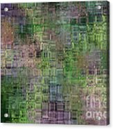 Technology Abstract Acrylic Print