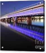 Tempe Lake Bridge Acrylic Print