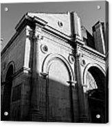 Tempio Malatestiano In Rimini Italy  Acrylic Print