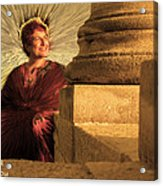 Temple Of Apollo Acrylic Print