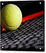 Tennis Equipment Acrylic Print by Michal Bednarek