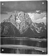 Teton National Park Acrylic Print by Oleksii Khmyz