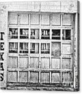 Texas Junk Co. Acrylic Print