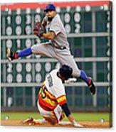 Texas Rangers V Houston Astros 1 Acrylic Print