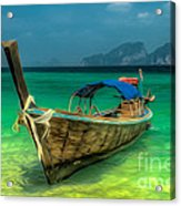 Thai Longboat Acrylic Print