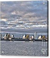 Thames Barrier London Acrylic Print