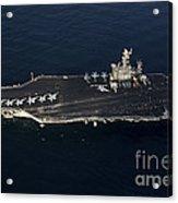 The Aircraft Carrier Uss John C Acrylic Print