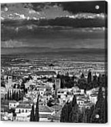 The Alhambra And Albaycin In Granada Acrylic Print