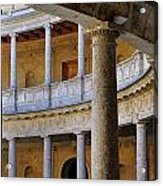 The Alhambra Palace Of Carlos V Acrylic Print by Guido Montanes Castillo