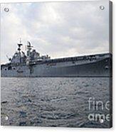 The Amphibious Assault Ship Uss Acrylic Print