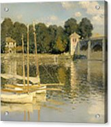 The Argenteuil Bridge Acrylic Print