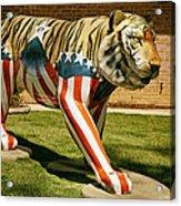The Auburn Tiger Acrylic Print