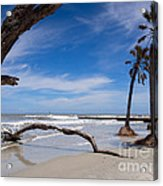 The Beach At Hunting Island State Park Acrylic Print