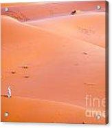 The Beautiful Silence Of The Sahara Desert Acrylic Print