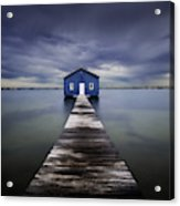 The Blue Boatshed Acrylic Print