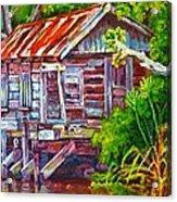 The Camp Bayou Acrylic Print