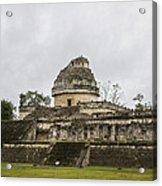 The Castillo In Chichen Itza Acrylic Print
