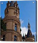The Castle Of Schwerin Acrylic Print