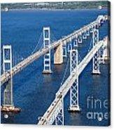 The Chesapeake Bay Bridge Acrylic Print