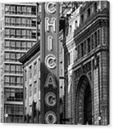 The Chicago Theatre Acrylic Print