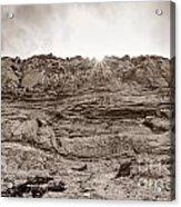 The Cliffs At Torrey Pines San Deigp Acrylic Print