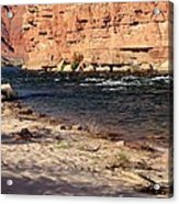 The Colorado Through Marble Canyon Acrylic Print