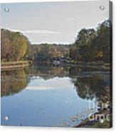 The Erie Canal  Acrylic Print