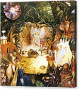 The Fairies Banquet Acrylic Print by John Anster Fitzgerald