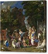 The Feast Of The Gods Acrylic Print