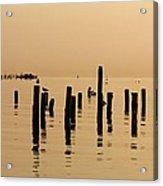 The Fisherman Acrylic Print